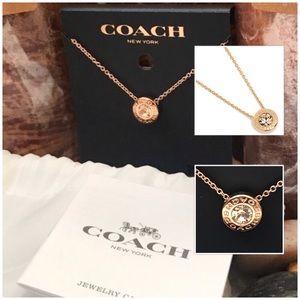 🆕🔥SALE!*Coach Open Circle Stone Strand Necklace